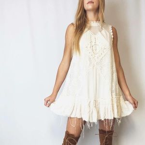 Free People FPOne Angel Lace Dress